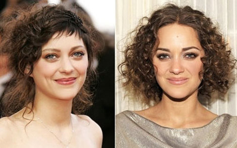Famous Marion Cotillard Hair Style