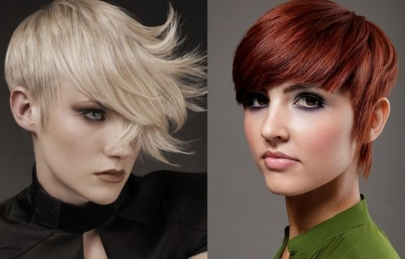 Fashionable Short Hair Style